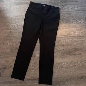Dalia Pull-On Dress Pant Size Medium Black